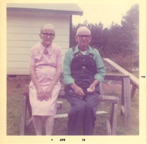 My Grandparents, Jim & Lucy Wright