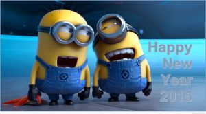 Minions Happy New Year