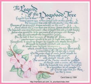 Dogwood legend