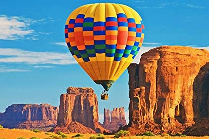 hot air balloon grand canyon-amazon