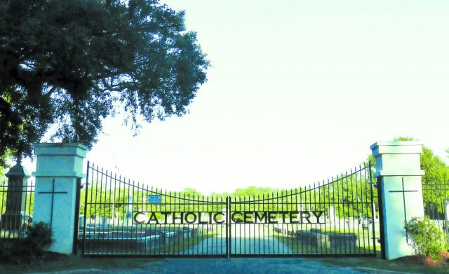 Mobile-Cemetery-Gate-catholic cemeteries inc