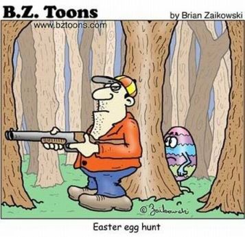 easter-humor-cartoon-easter-egg-hunt-hunter-with-rifle